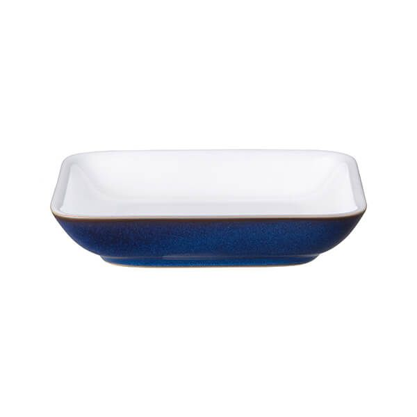Denby Imperial Blue Small Square Plate