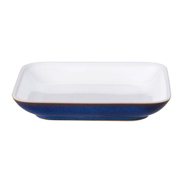 Denby Imperial Blue Medium Square Plate