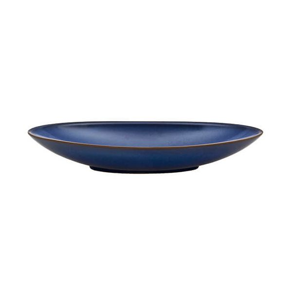 Denby Imperial Blue Large Oval Serving Dish