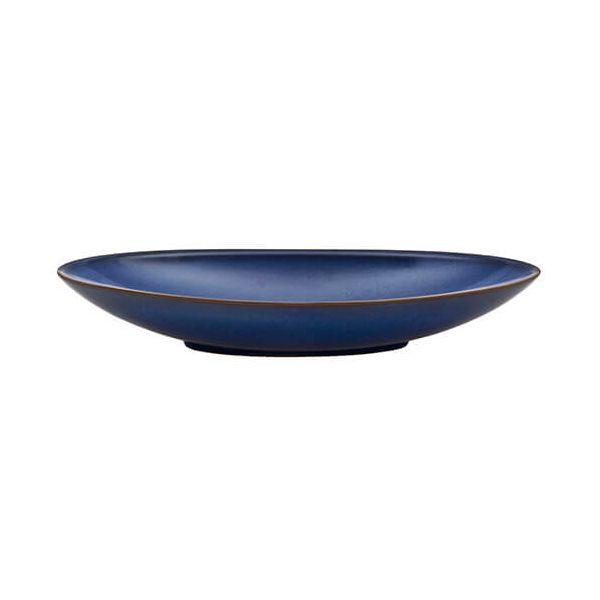 Denby Imperial Blue Large Oval Serving Dish
