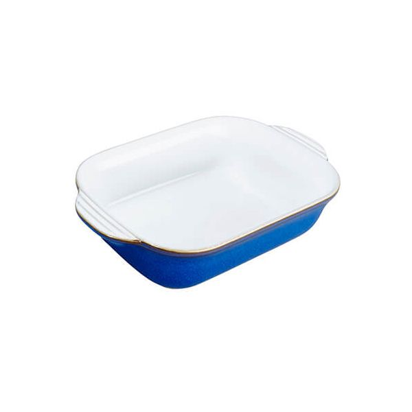 Denby Imperial Blue Small Rectangular Oven Dish