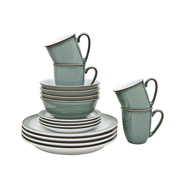 Denby Regency Green 16 Piece Set