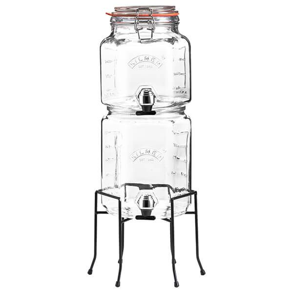 Kilner Stackable Jar Set with Taps & Stand