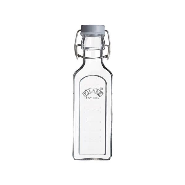 Kilner Square Clip Top Bottle 0.3L