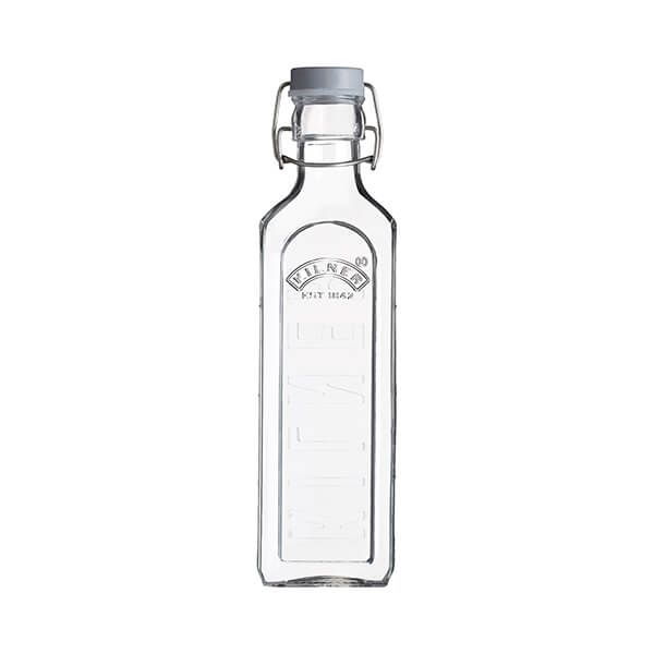 Kilner Square Clip Top Bottle 0.6L