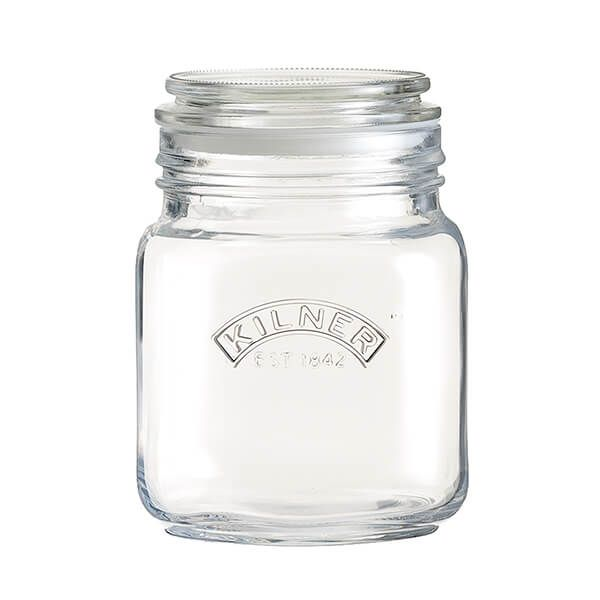 Kilner Push Top Square Jar 1 Litre