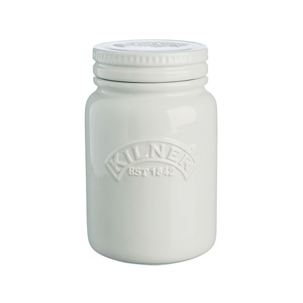 Kilner 0.6L Moon Grey Push Top Jar