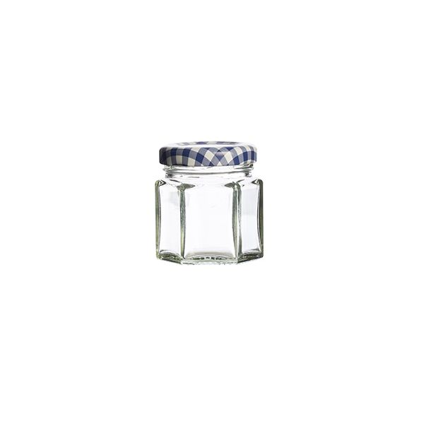 Kilner Twist Top Hexagonal Jar 48ml Box Of 12