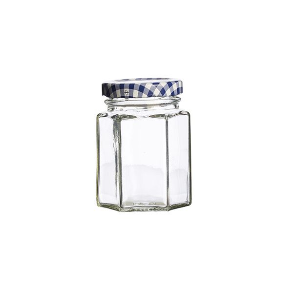 Kilner Twist Top Hexagonal Jar 110ml Box Of 12