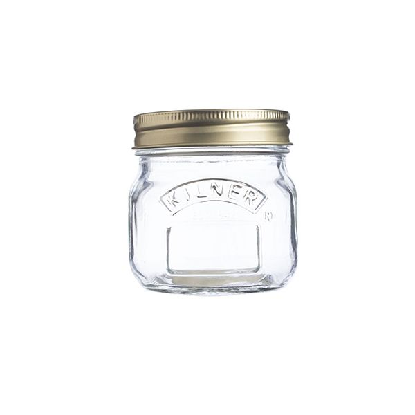 Kilner Preserve Jar 0.25 Litre Box Of 12