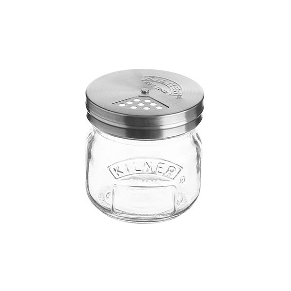 Kilner 250ml Preserve Jar With Shaker Lid