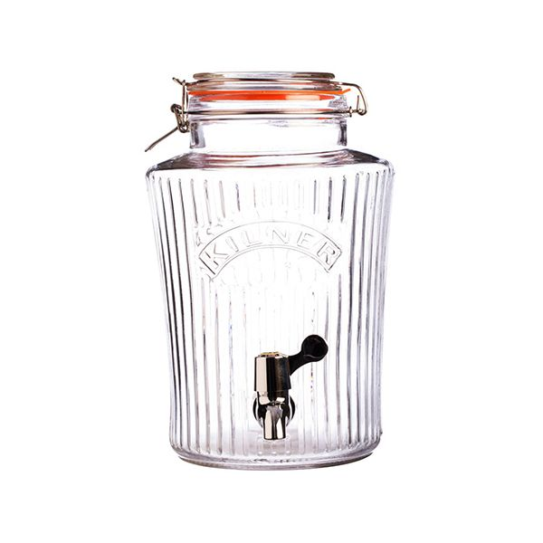 Kilner Vintage Clip Top Drinks Dispenser 5 Litre