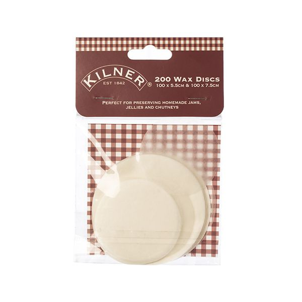 Kilner Wax Discs Pack Of 200