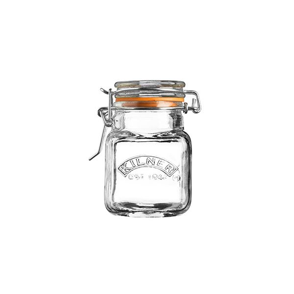 Kilner Clip Top Spice Jar Square 70ml