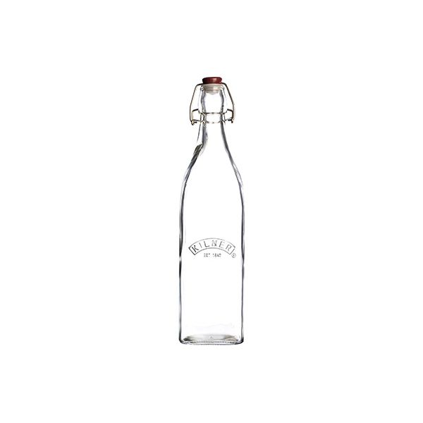 Kilner Square Clip Top Bottle 0.55L