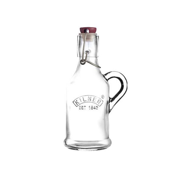Kilner Clip Top Bottle 200ml with Handle