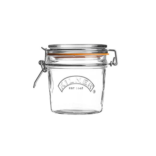 Kilner Clip Top Jar Round 350ml