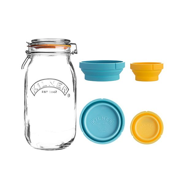 Kilner Measure And Store Jar Set 2 Litre
