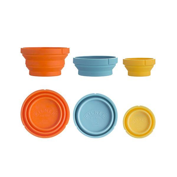 Kilner Measure & Store Set Of 3 Measuring Cups