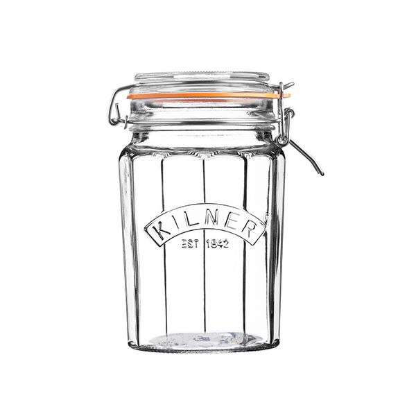 Kilner Facetted Clip Top Jar 0.95 Litre