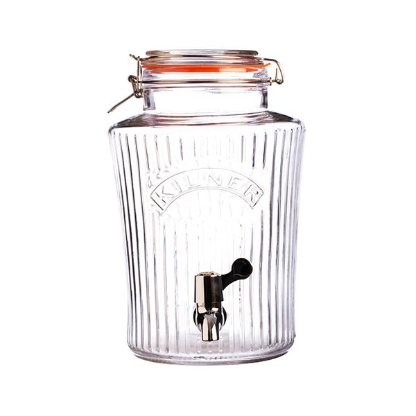Kilner Vintage Clip Top Drinks Dispenser 8 Litre
