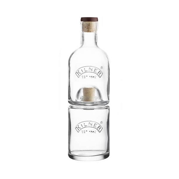 Kilner Stackable 2 Piece Bottle Set