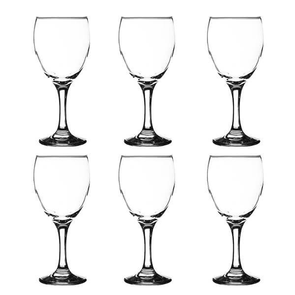 Ravenhead Essentials 300ml Set Of 6 Red Wine Glasses