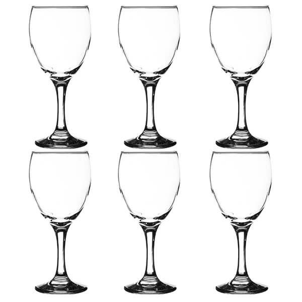 Ravenhead Essentials 250ml Set Of 6 White Wine Glasses