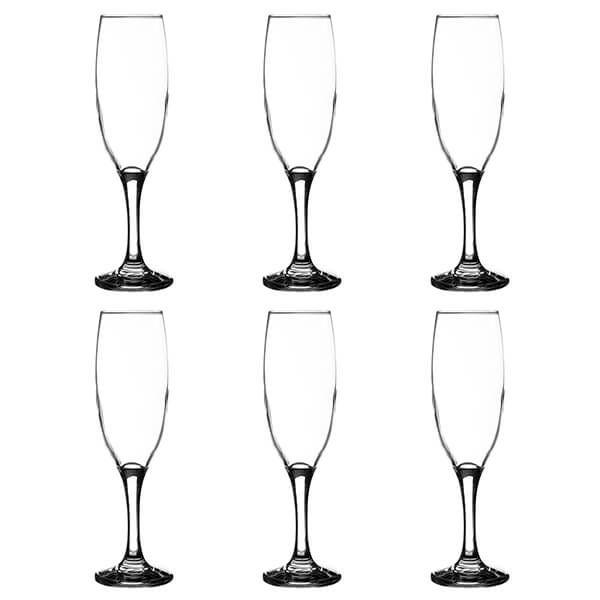 Ravenhead Essentials 220ml Set Of 6 Flute Glasses