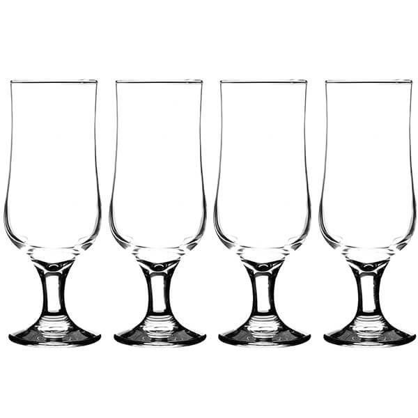 Ravenhead Tulip 350ml Set Of 4 Stemmed Beer Glasses