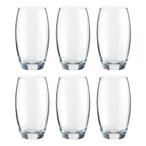 Ravenhead Mode 480ml Set Of 6 Hiball Glasses