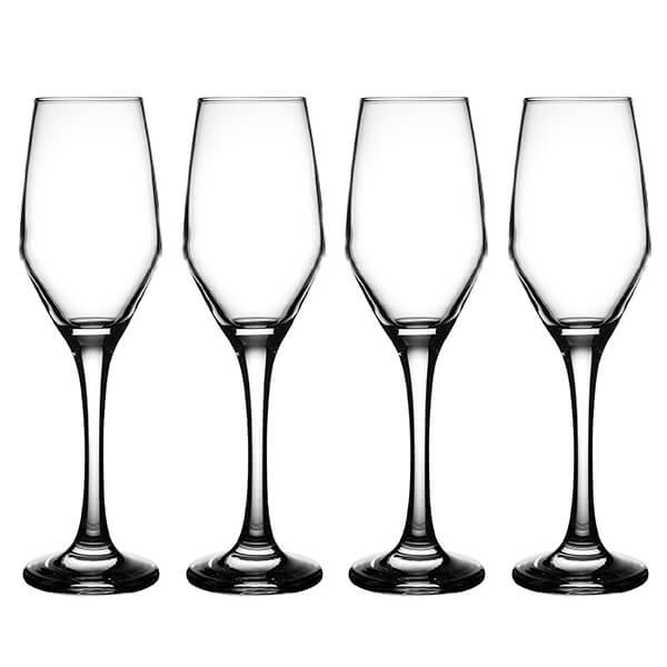 Ravenhead Majestic 210ml Set Of 4 Flute Glasses