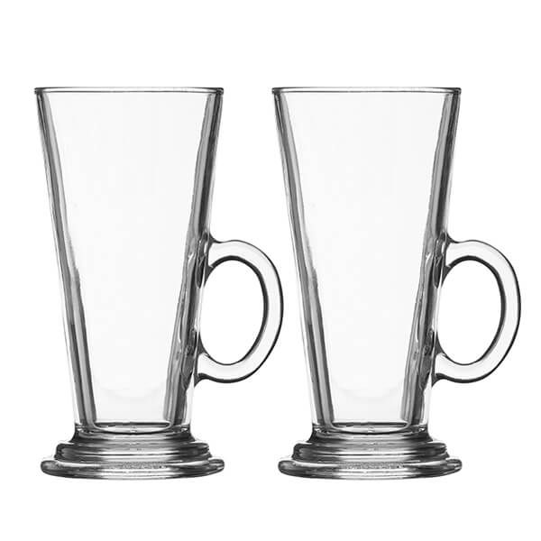 Ravenhead Entertain 260ml Set Of 2 Latte Glasses