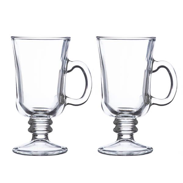 Ravenhead Entertain 230ml Set Of 2 Irish Coffee Glasses