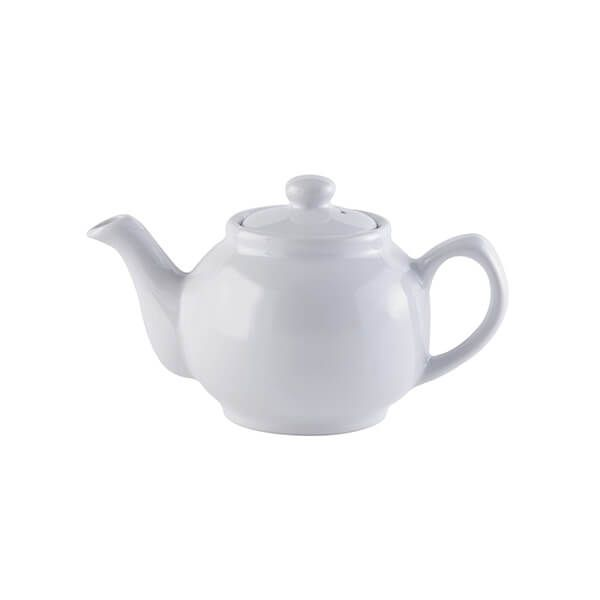 Price & Kensington White 2 Cup Teapot