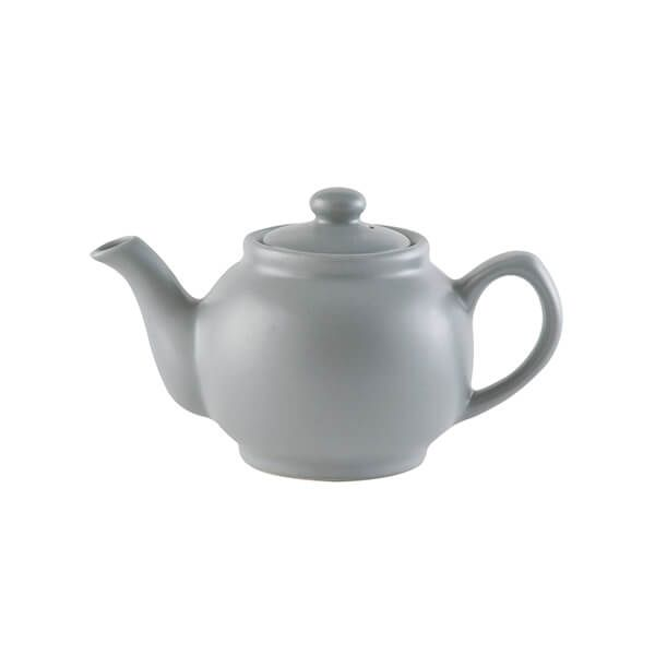 Price & Kensington Matt Grey 2 Cup Teapot