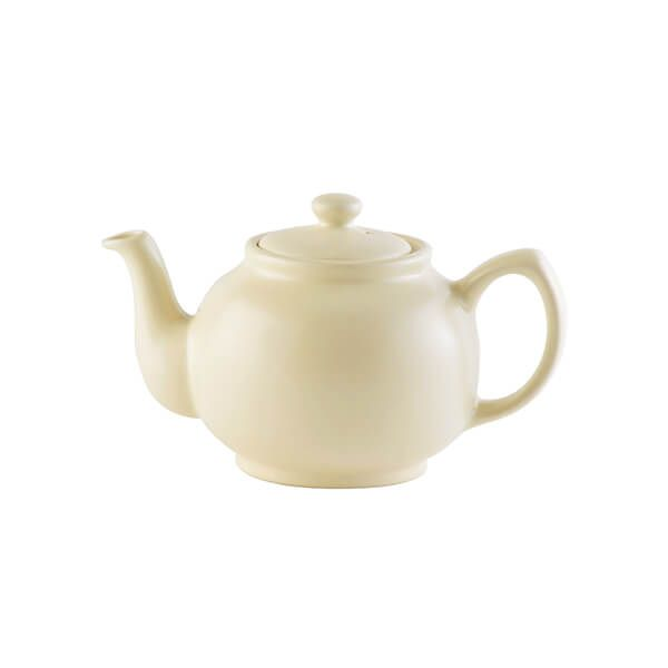 Price & Kensington Matt Cream 2 Cup Teapot