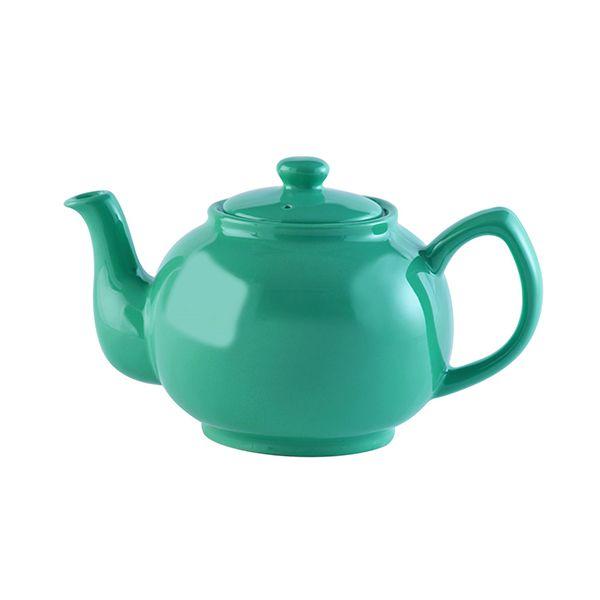 Price & Kensington Jade Green 6 Cup Teapot