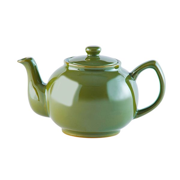 Price & Kensington Olive Green 6 Cup Teapot