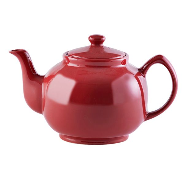 Price & Kensington Red 10 Cup Teapot