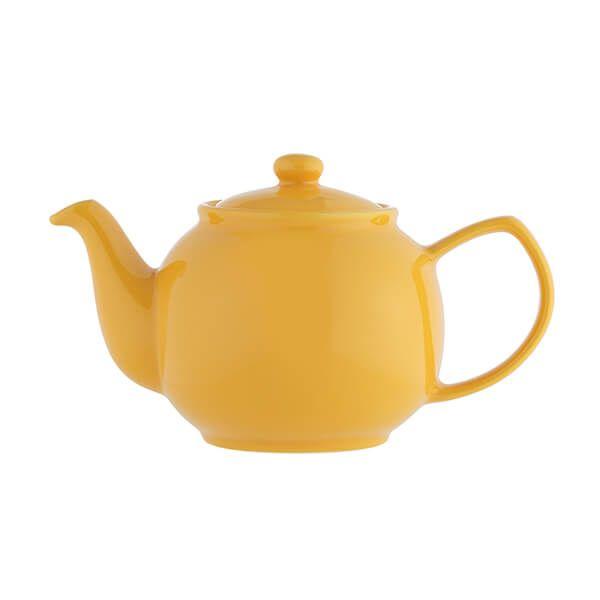 Price & Kensington Mustard 6 Cup Teapot
