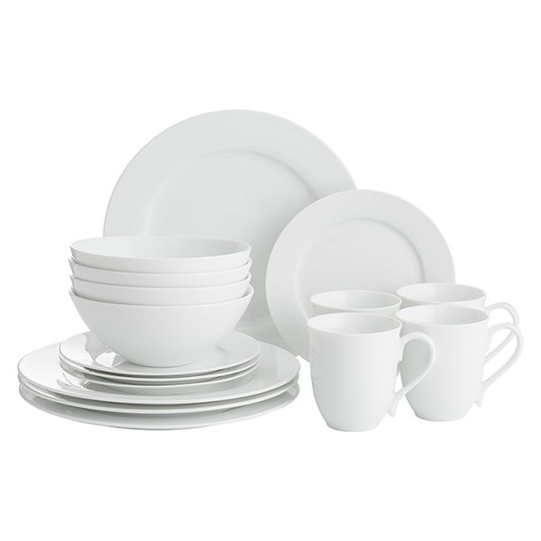 Price & Kensington Simplicity 16 Piece Dinner Set