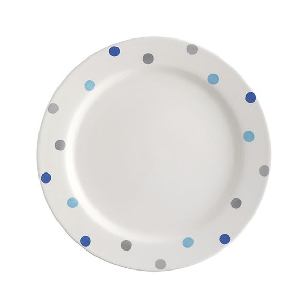 Price & Kensington Padstow Blue 26.5cm Dinner Plate