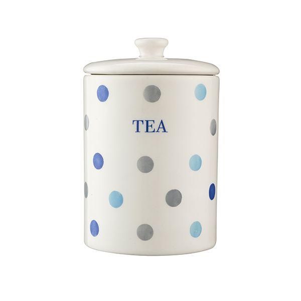 Price & Kensington Padstow Blue Tea Storage Jar