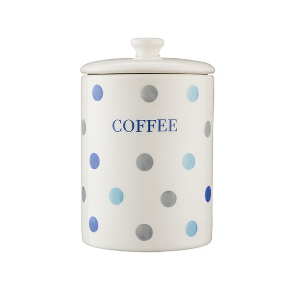 Price & Kensington Padstow Blue Coffee Storage Jar