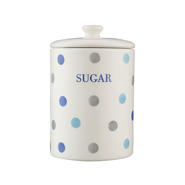 Price & Kensington Padstow Blue Sugar Storage Jar