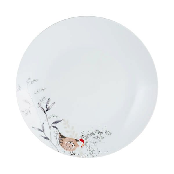Price & Kensington Country Hens Dinner Plate 26.5cm
