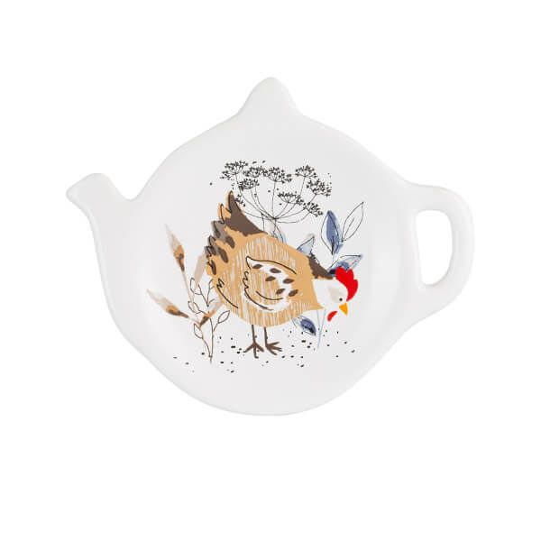Price & Kensington Country Hens Teabag Holder