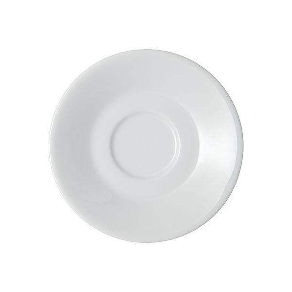 Denby White Espresso Saucer