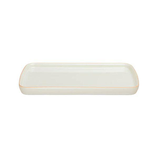 Denby Linen Small Rectangular Platter